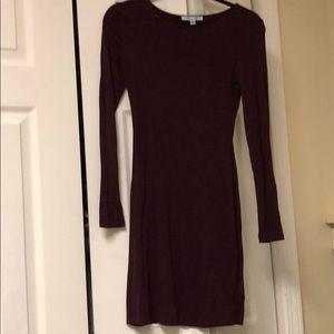 Mini shirt dress.
